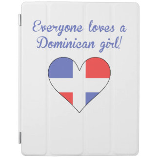 Everyone Loves A Dominican Girl iPad Cover