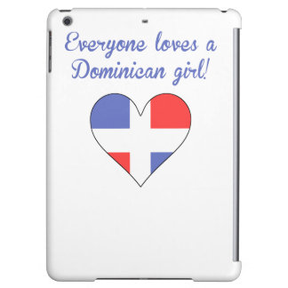 Everyone Loves A Dominican Girl Case For iPad Air