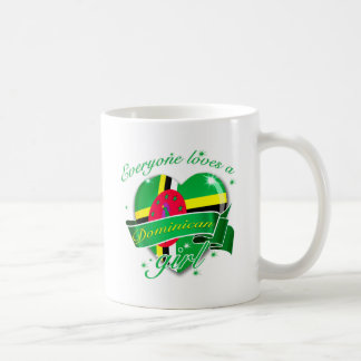 Everyone Loves A Dominican Girl Classic White Coffee Mug