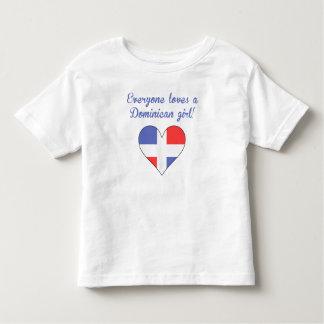 Everyone Loves A Dominican Girl Shirt
