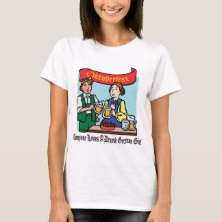 Everyone Loves A Drunk German Girl Oktoberfest T-Shirt
