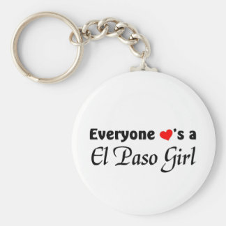 Everyone loves a El Paso Girl Keychain
