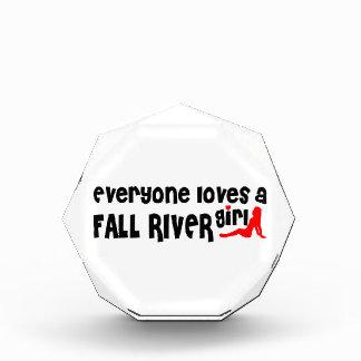 Everyone loves a Fall River girl Acrylic Award