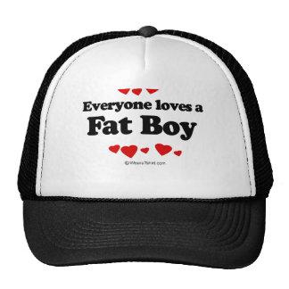 Everyone Loves a Fat Boy T-shirt Trucker Hat