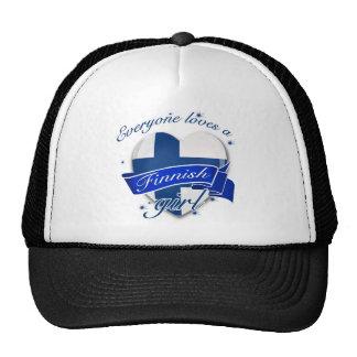 Everyone loves a Finnish Girl Trucker Hat