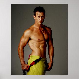 Everyone loves a Fireman Poster