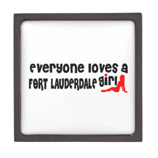 Everyone loves a Fort Collins girl Premium Trinket Box