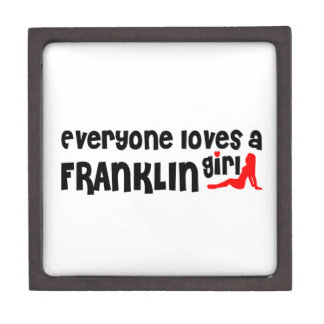Everyone loves a Franklin girl Premium Jewelry Box