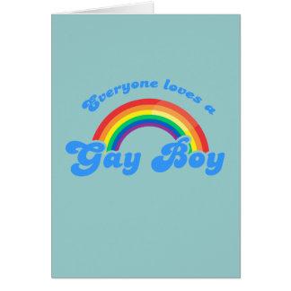 Everyone loves a Gay Boy Card
