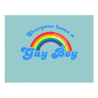 Everyone loves a Gay Boy Postcard