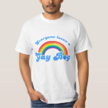 from Micheal everyone loves a gay boy t shirt