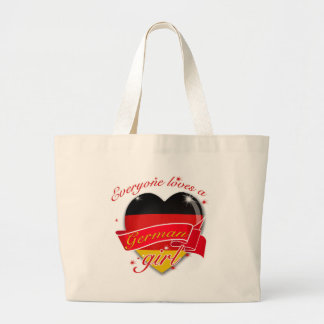 Everyone Loves A German Girl Canvas Bags