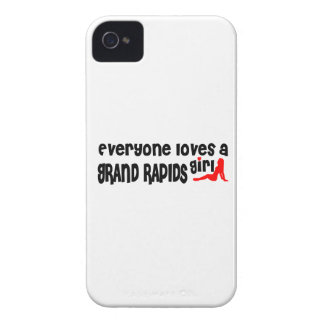 Everyone loves a Grand Rapids girl iPhone 4 Cases