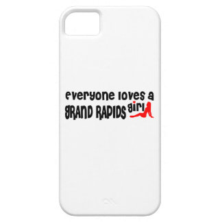 Everyone loves a Grand Rapids girl iPhone 5 Cases