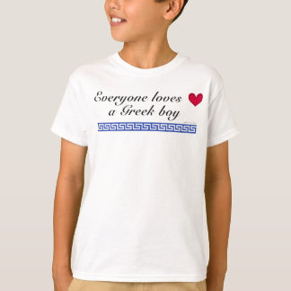 Everyone loves a greek boy T-Shirt