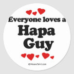 Everyone loves a Hapa guy Stickers