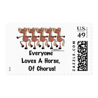 Everyone Loves a Horse of Chorus Postage
