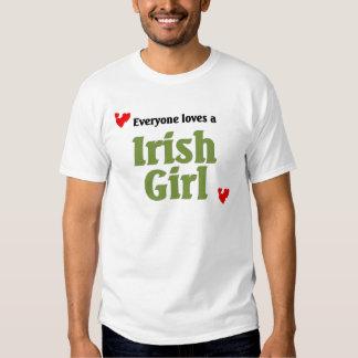 everyone loves a Irish Girl T Shirt
