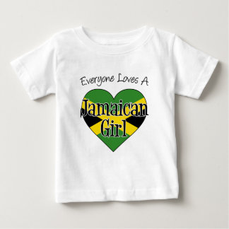 Everyone Loves A Jamaican Girl Baby T-Shirt