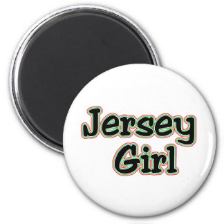 Everyone Loves a Jersey Girl Fridge Magnets