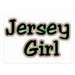 Everyone Loves a Jersey Girl Postcard