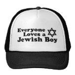 Everyone Loves a Jewish Boy Trucker Hats