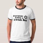 Everyone Loves a Jewish Boy Tshirts