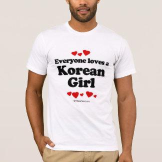 Everyone loves a Korean girl T-Shirt