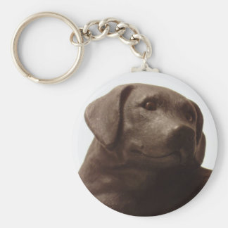 Everyone Loves a Labrador Retriever Basic Round Button Keychain