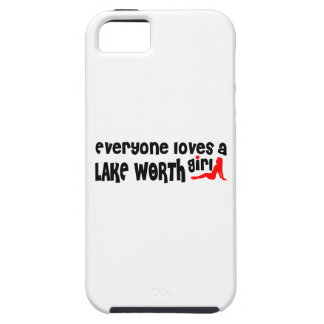 Everyone loves a Lake Worth girl iPhone 5 Cases