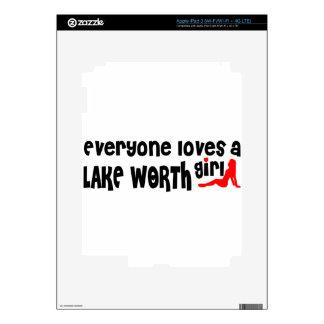 Everyone loves a Lake Worth girl iPad 3 Skin