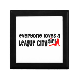Everyone loves a League City girl Jewelry Box