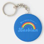 Everyone loves a Lesbian Keychain