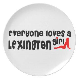 Everyone loves a Lexington girl Plate