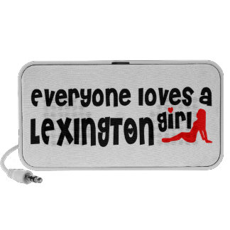 Everyone loves a Lexington girl Travelling Speakers