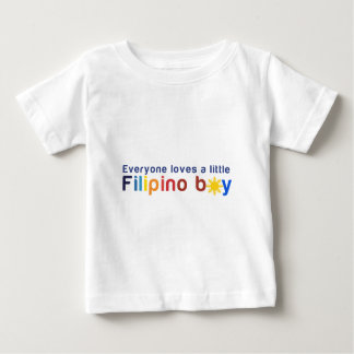 Everyone loves a little Filipino boy Baby T-Shirt