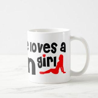 Everyone loves a Lynn girl Classic White Coffee Mug