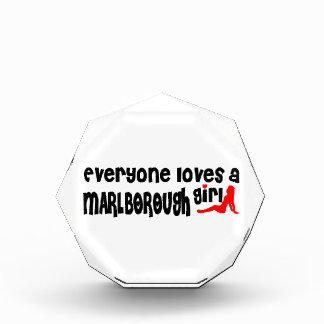 Everyone loves a Marlborough girl Acrylic Award
