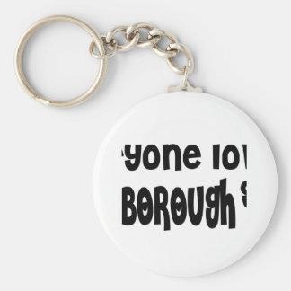 Everyone loves a Marlborough girl Basic Round Button Keychain