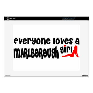 Everyone loves a Marlborough girl Decals For Laptops