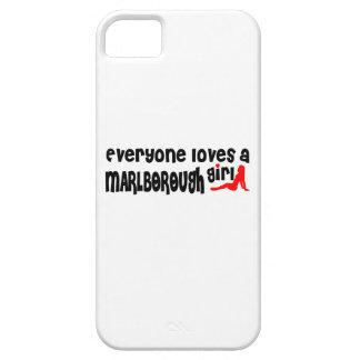 Everyone loves a Marlborough girl iPhone 5 Cases