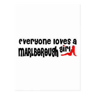 Everyone loves a Marlborough girl Postcard
