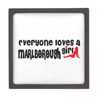 Everyone loves a Marlborough girl Premium Keepsake Boxes