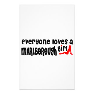 Everyone loves a Marlborough girl Stationery