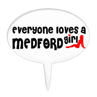 Everyone loves a Medford MA girl Cake Toppers