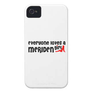 Everyone loves a Meriden girl iPhone 4 Covers