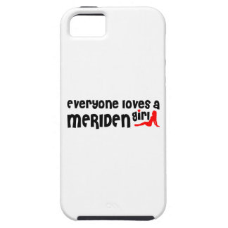 Everyone loves a Meriden girl iPhone 5 Covers