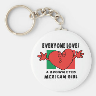 Everyone Loves A Mexican Girl Key Chains