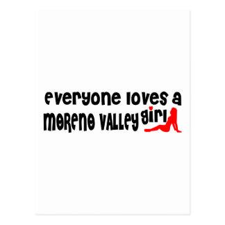 Everyone loves a Moreno Valley girl Postcard
