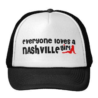 Everyone loves a Nashville girl Trucker Hat